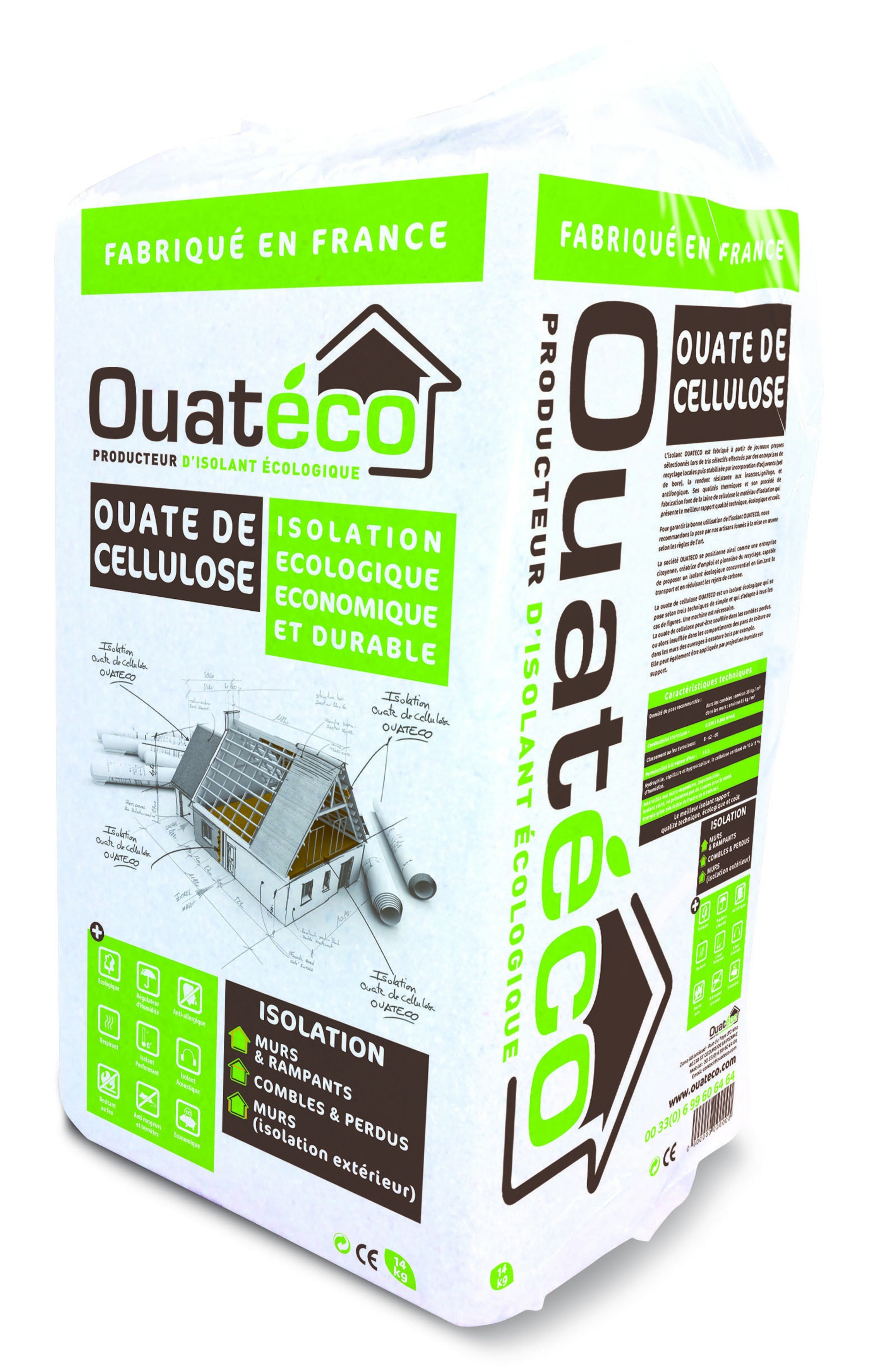 isolation bordeaux ouate de cellulose